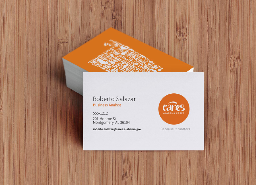 CARES Business Card Concept