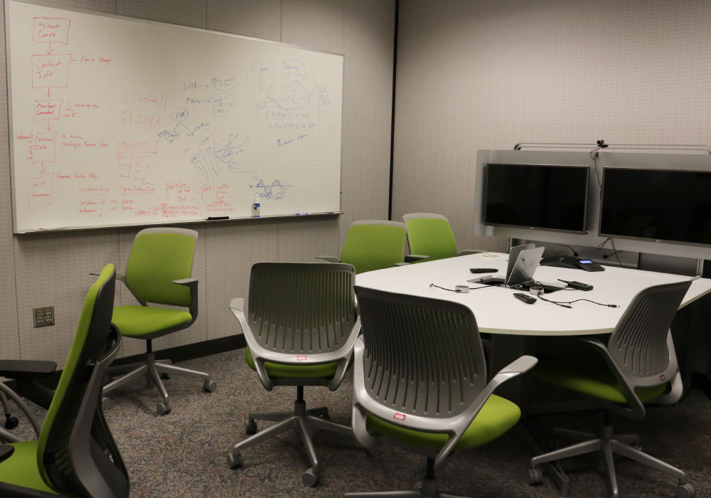 Collaboration room at CARES